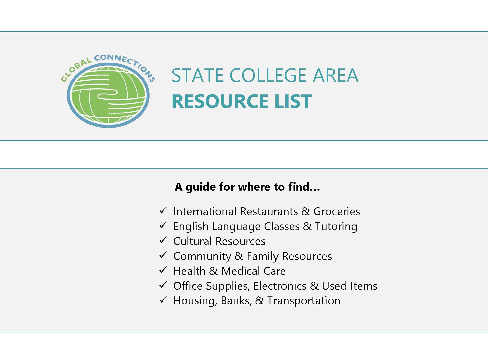 Resource List Cover Page-partial