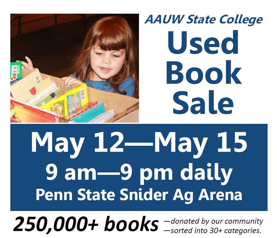 AAUW 2018 book sale