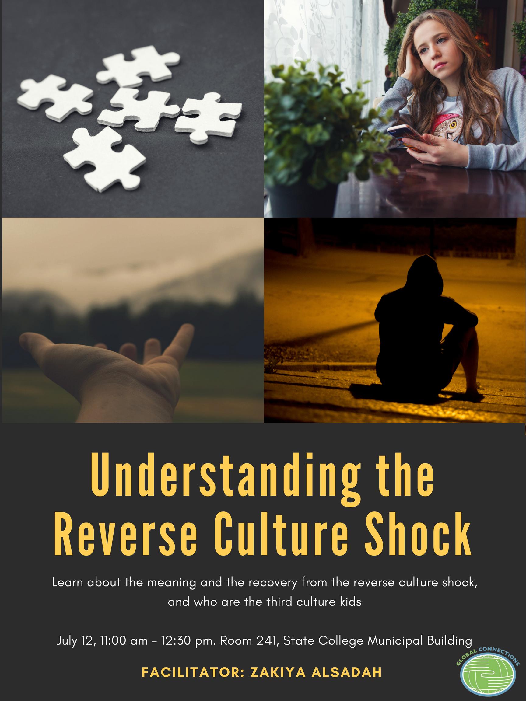 Understanding the Reverse Culture Shock – July 12 workshop