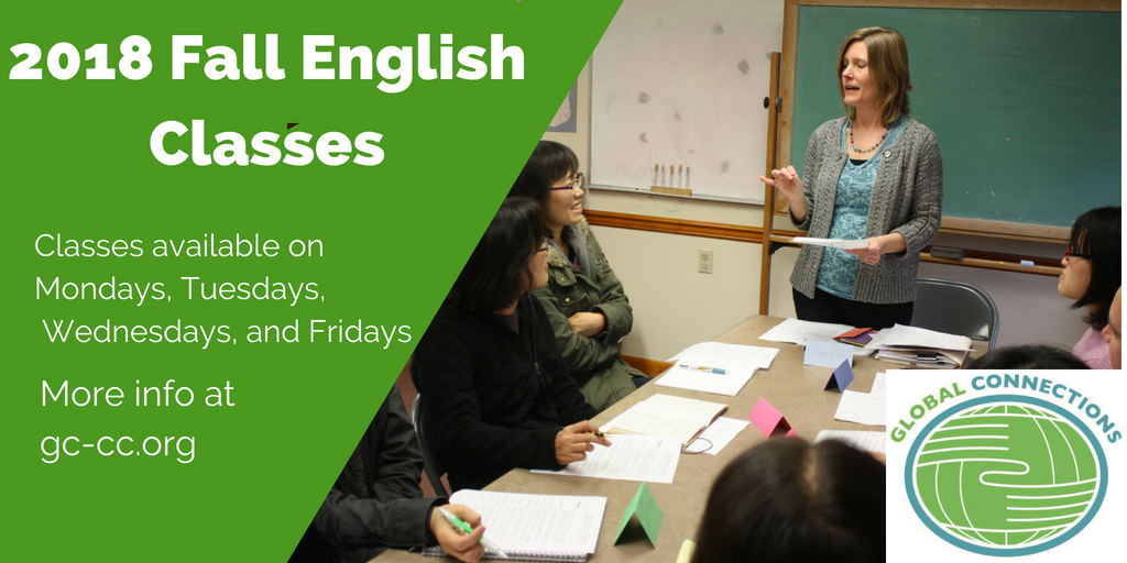Fall English Classes