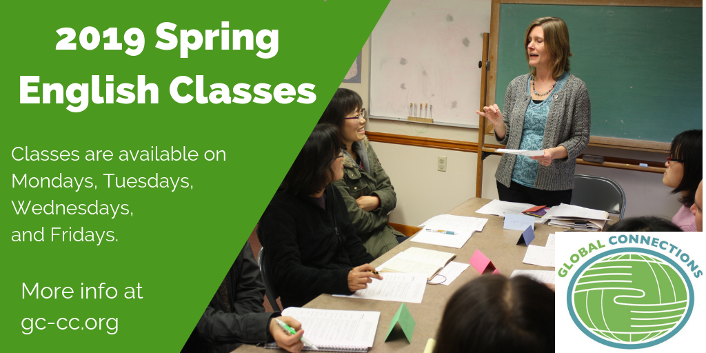 2019 Spring English Classes