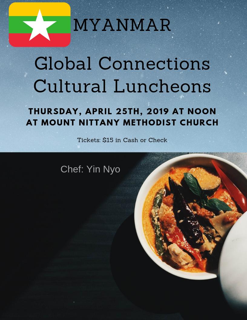 Myanmar Cultural Luncheon