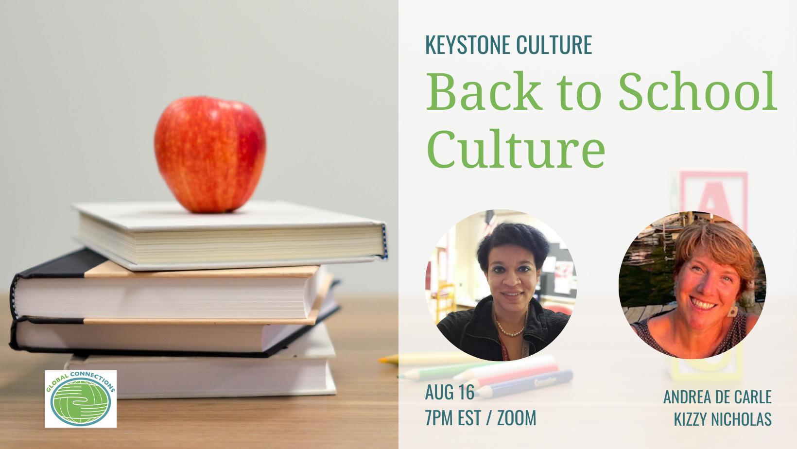 Keystone Culture: Back to School!